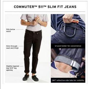 Levi's 511 Commuter Jeans Dark Wash